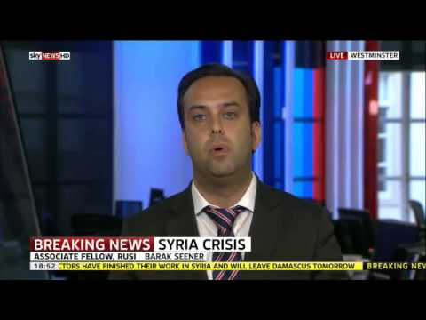 Sky News, Aug 30, 2013, Debate Between Barak Seener and Rachel Shabi on British Foreign Policy,