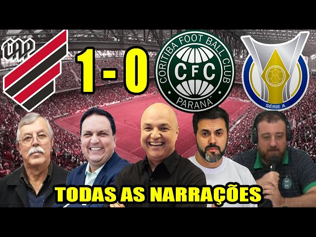 Todas as narrações - Athletico-PR 1 x 0 Coritiba | Campeonato Brasileiro 2020