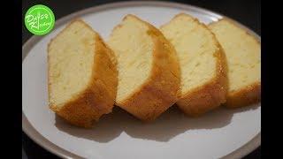 Lemon Pound Cake Recipe – Cách làm Bánh Bông Lan Bơ vị Chanh