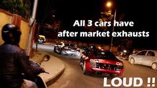 3 Supercars | Mid-Night Run | Insane Fun