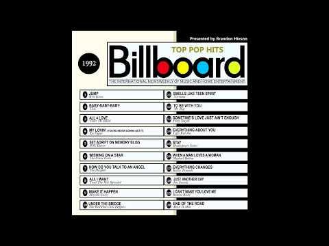 Billboard Top Pop Hits  1992