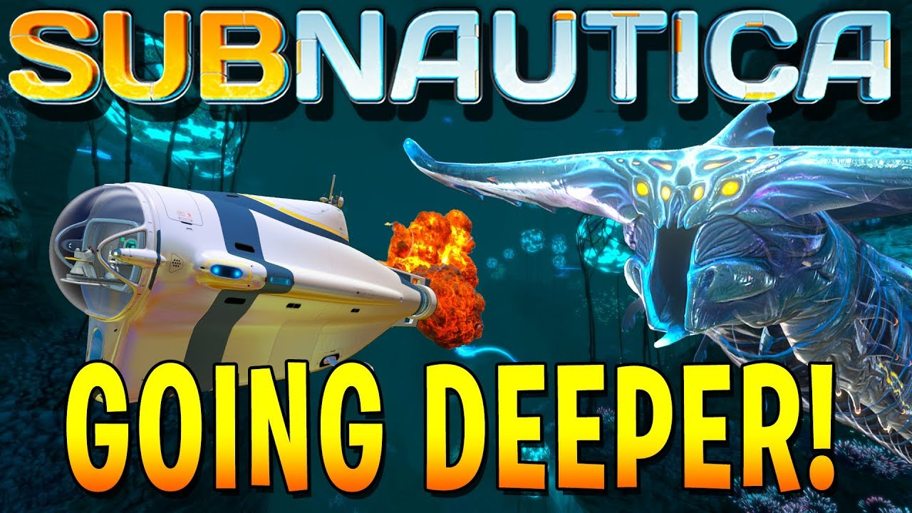 HUNTING FOR GHOST LEVIATHAN EGGS IN THE DEEP! (Subnautica