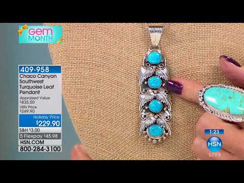 HSN | Chaco Canyon Southwest Jewelry 10.19.2017 - 01 PM