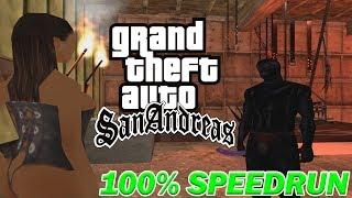 Grand Theft Auto: San Andreas - 100% Speedrun 2018