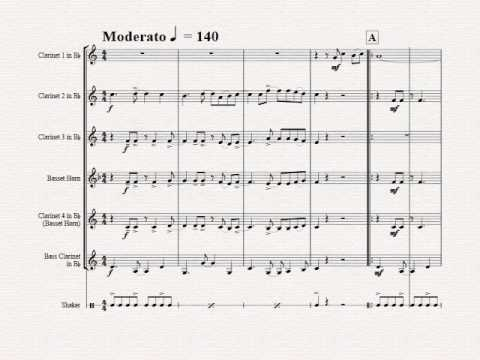 Feliz Navidad Clarinete.Feliz Navidad Christmas Classic Clarinet Quintet