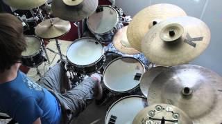 Practising Benny Greb foot ostinato patterns (day 2)