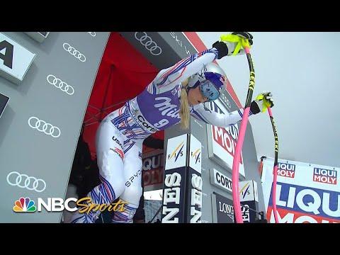 Lindsey Vonn's downhill run at Cortina dAmpezzo  NBC Sports