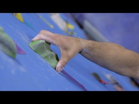 How to Grip Indoor Climbing Holds | Rock Climbing