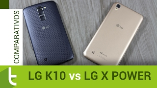 Comparativo: LG X Power vs LG K10 | Review do TudoCelular