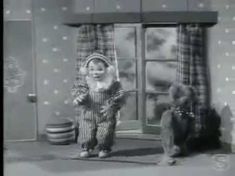 BBC TV 1950s 1960s  CHILDRENS PROGRAMMES  ANDY PANDY  TITLES HD 1080P
