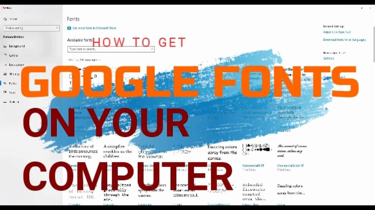 Google Fonts - How to use Indic/ Hindi / Devanagari fonts