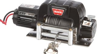 rc4wd warn winch and controller