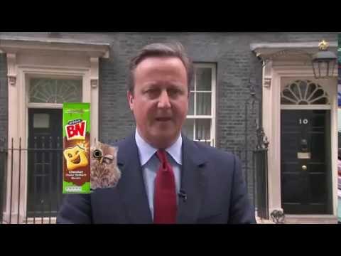 David Cameron resigns and hums his way to new job at McVities BN