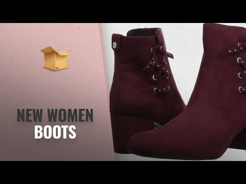 Women Boots - Hot New Releases [Aug 2018]: Circus by Sam Edelman Women's Vinnie Fashion Boot, Wine