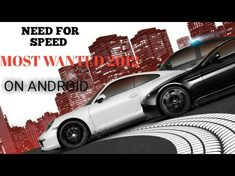 How To Download Need For Speed Most Wanted 2012 Mobile