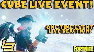 Leaky Lake LIVE EVENT Reaction! (Fortnite)