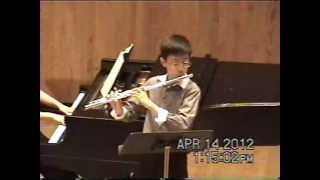 Michael Lee - Handel Recorder Sonata in F Major Giga, Allegro, Sicilana