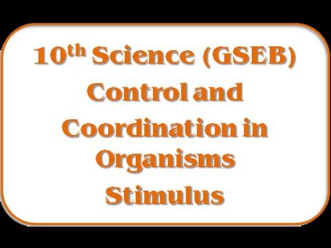 Stimulus – Std 10th Science(GSEB)