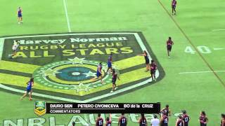 2015 Harvey Norman All Stars Touch Football game