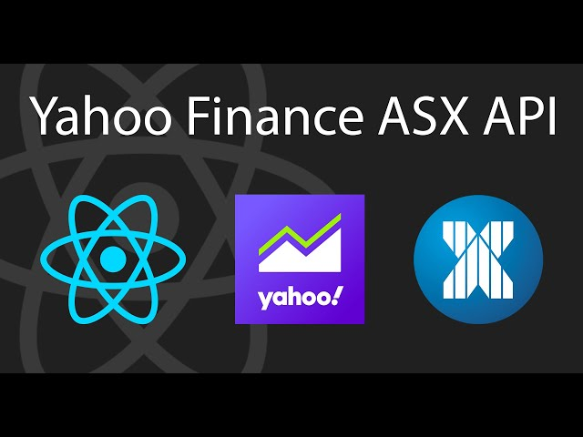 Freemium Australian Shares ASX API 🇦🇺 | React Tutorial