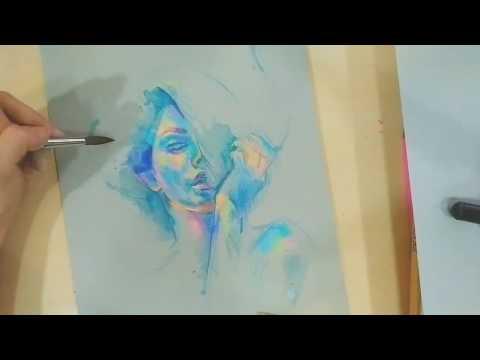 Original painting recording