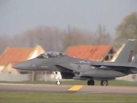 RAF Lakenheath 492nd Departures & Air Spares over 3 Days