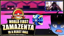 World First Beast Ball Zamazenta on Youtube/Twitch | Pokemon Sword and Shield | Pokemon
