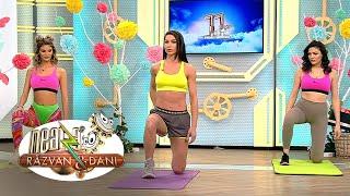 Fitness la Neatza cu Diana Stejereanu! Antrenament pentru coapse și fesieri