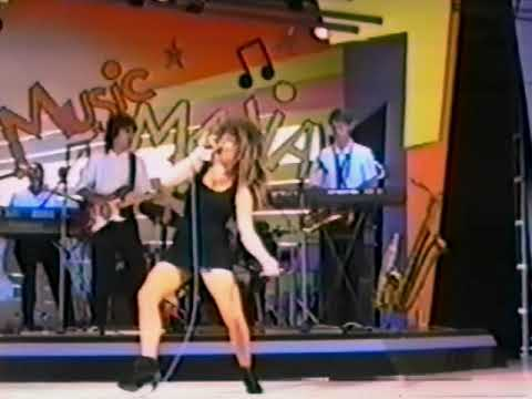 Alton Towers Live Show 1993 Kerry Wilson as Tina Turner Nutbush City Limits