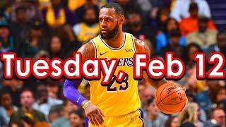 NBA DraftKings Picks + FanDuel Picks 2/12/2019