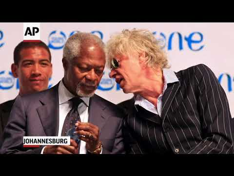Photos of Kofi Annan, Who Has Died At Age 80