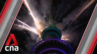 New Zealand among first to welcome 2021 with Auckland fireworks