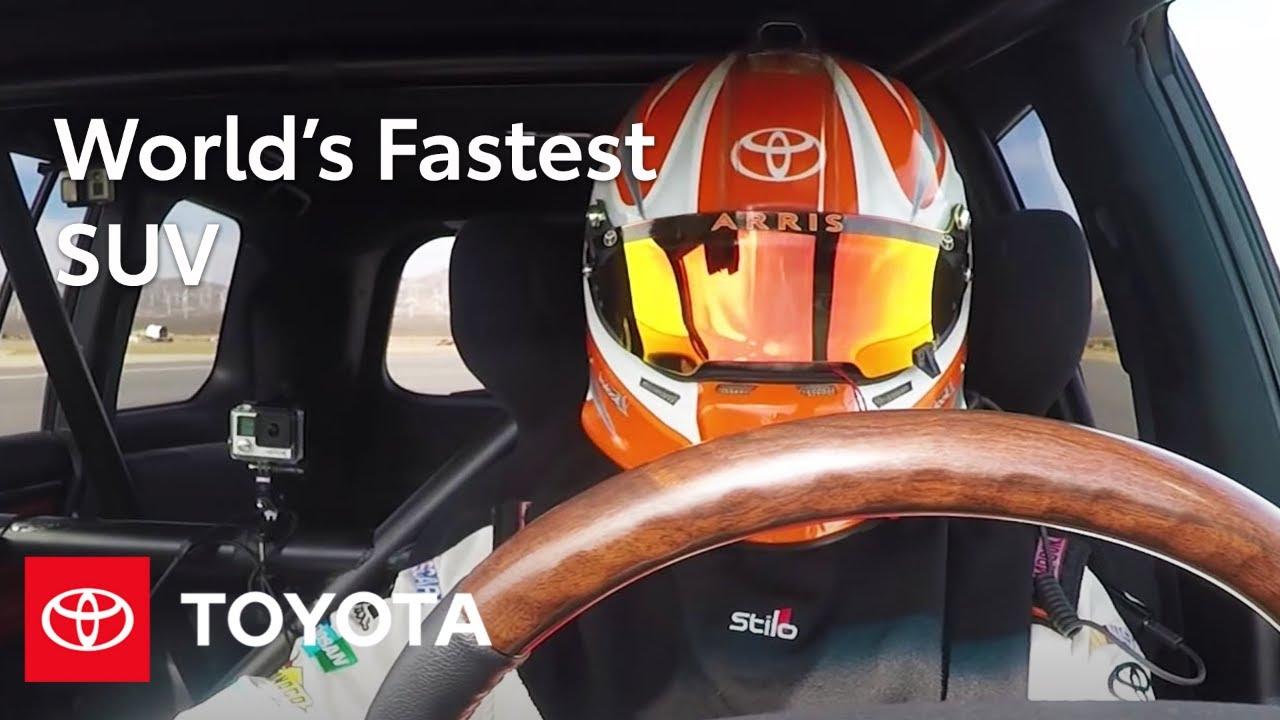 "Toyota Land Speed Cruiser Claims ""World's Fastest SUV"" Title | Land Cruiser | Toyota"
