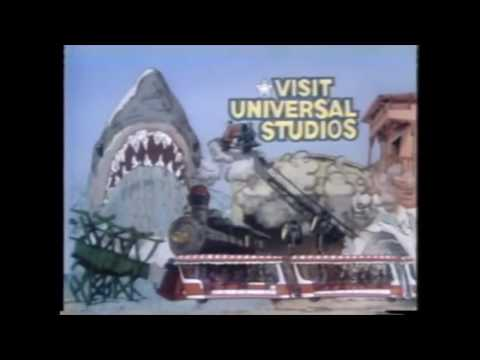 Universal Studios Hollywood TV Commercial with Alfred Hitchcock (1977)