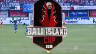 Highlights Persib Bandung Vs Arema Cronus [0-1] Bali Island Cup 23 Februari 2016
