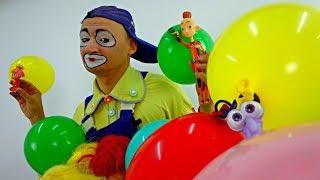 😊 Vídeos graciosos para niños🎉 Payaso Andrés. Vídeos para niños. Payasos buenos