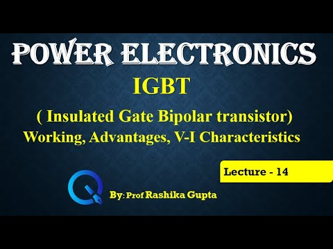 IGBT ( Insulated Gate Bipolar transistor)