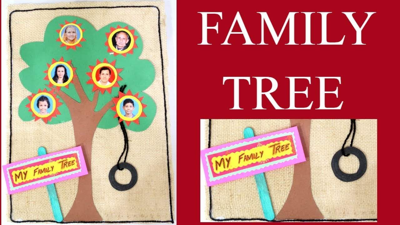 Family Tree Family Tree For Kids Project How To Make Family Tree