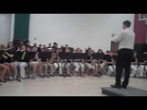 Avon Intermediate School West Band Performance #1