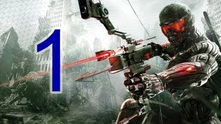 "Crysis 3 Walkthrough - part 1 let's play gameplay HD PS3 XBOX PC ""Crysis 3 walkthrough part 1"""