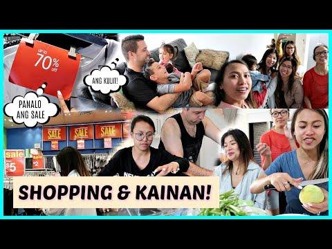 PANALO ANG MGA SALE! SHOPPING + NAGLUTO NG BREAKFAST + MAY PA DINNER SI INDAY ❤️ | rhazevlogs