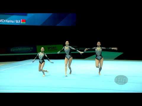 Belarus (BLR) - 2018 Acrobatic Worlds, Antwerpen (BEL) - Balance  Women's Group
