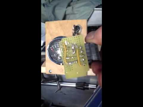 Self Built Tachometer Interface For Old Omc Johnson