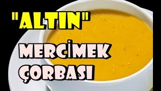 Altın Mercimek Çorbası / Sütlü-Pastırmalı Mercimek Çorbası Nasıl Yapılır ?