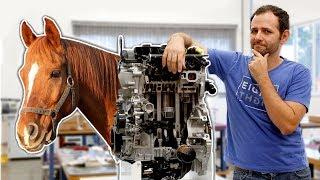 Por que seu motor tem cavalos?