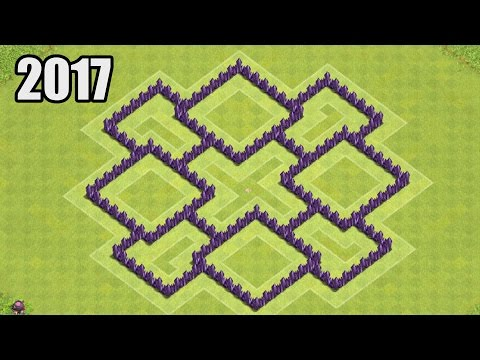 Clash of Clans - Town hall 7 (Th7) Farming Base & Hybrid Base 2017