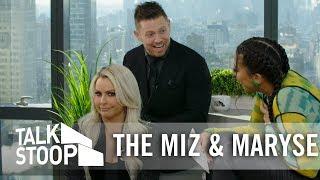 "The Miz & Maryse Talk ""Miz & Mrs."" Season 2 & Living with Their Parents| Talk Stoop"