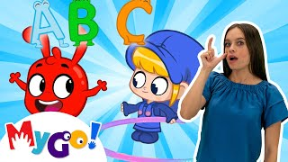 My Magic Letters | Sign Language For Kids | Kids Cartoon | Morphle | ASL