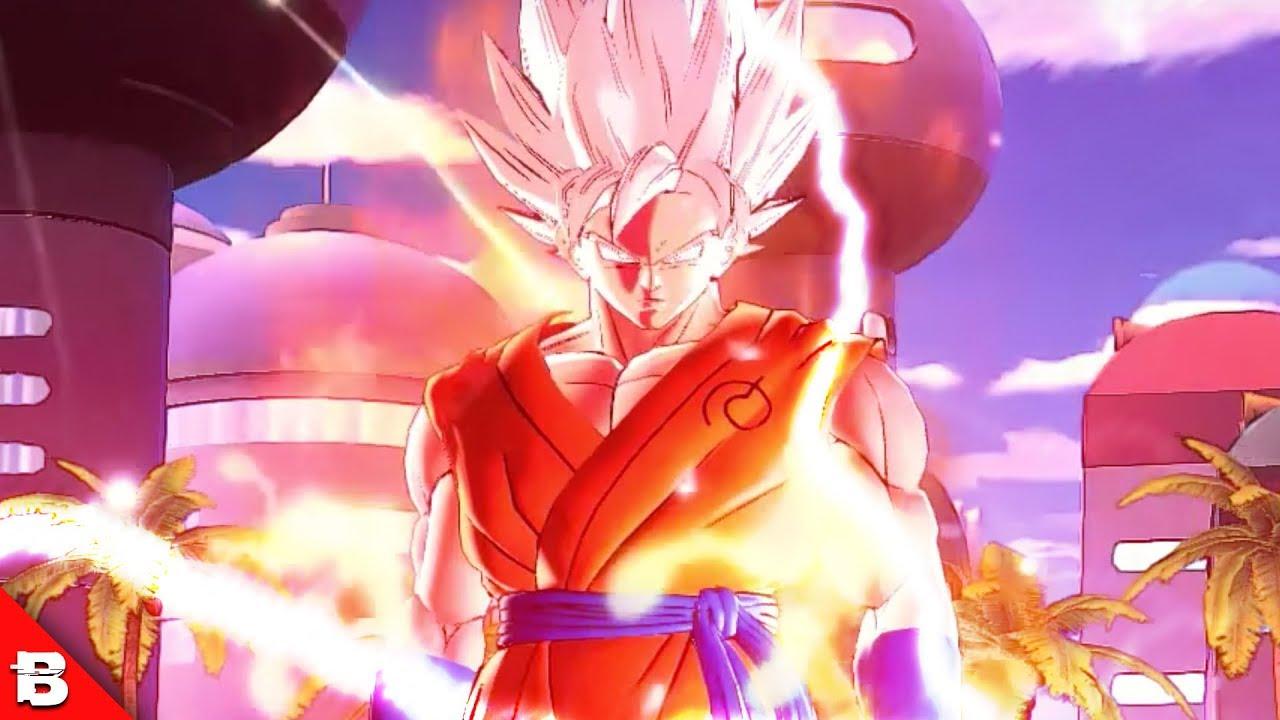 Goku Super Saiyan White Transformation Xenoverse Ultimate Gameplay