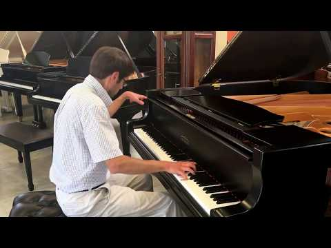 "Estonia 5'6"" Grand Piano ""For Sale""- Highlights from Rhapsody in Blue by Scott Griffin"